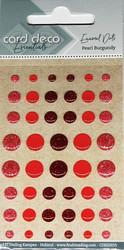 Enamel dots tarrakoristeet kiiltävä/kimaltava punaiset