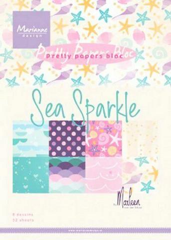 Marianne Design paperilehtiö Sea Sparkle a5