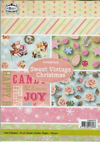 Craft Emotions paperikko Sweet Vintage Christmas a5