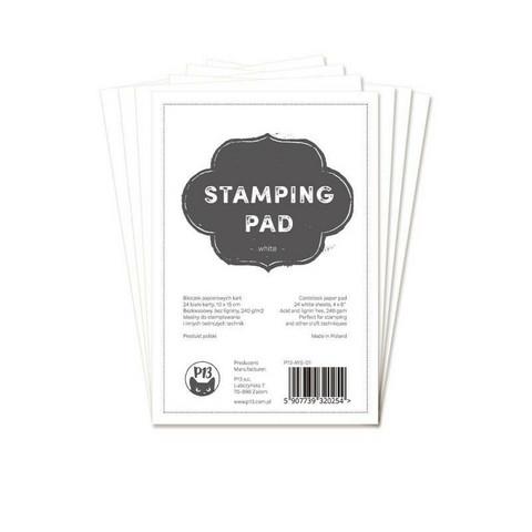 P13 Stamping pad - White 4x6