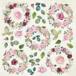 Craft & You leikekuvat Flower Vibes elements CP-FV07 30,5x30,5cm