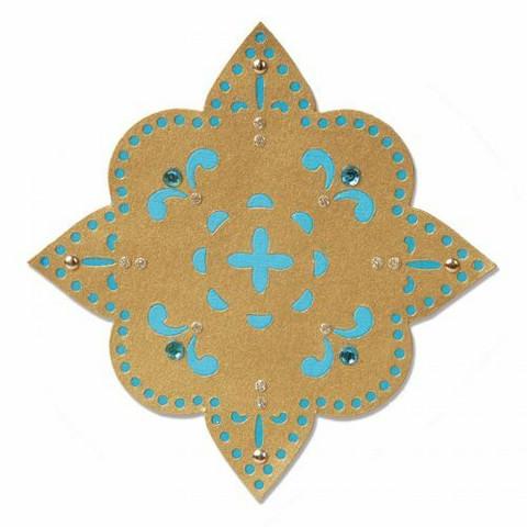 Sizzix sizzlitz stanssi Flower, Moroccan Star 658386