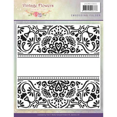 Kohokuviointitasku Vintage Flowers Jeanine´s art jaemb10005