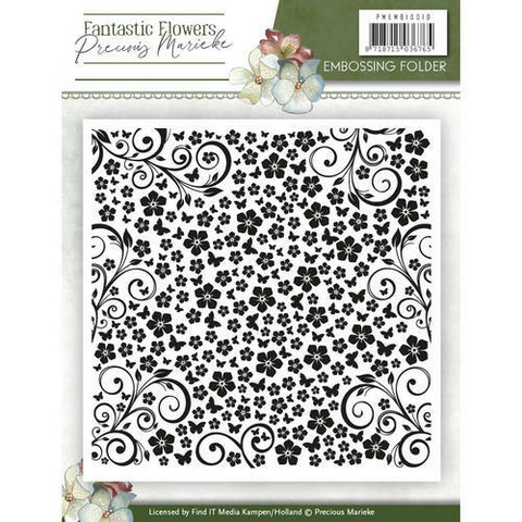 Kohokuviointitasku Fantastic Flowers Precious Marieke PMEMB10010