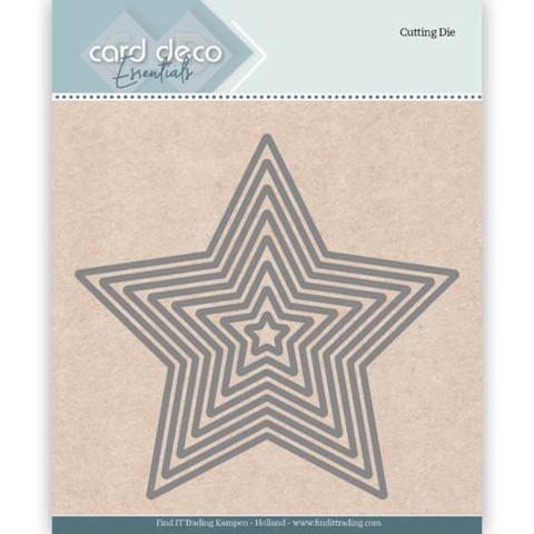 Card Deco stanssit - tähdet Stars 8kpl