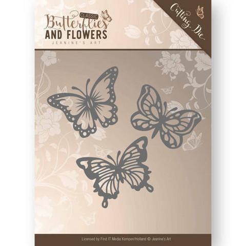 Jeanine's Art stanssi - Butterflies and Flowers Butterlies