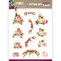 Stanssatut 3d-kuvat Romantic Roses Precious Marieke sb10515