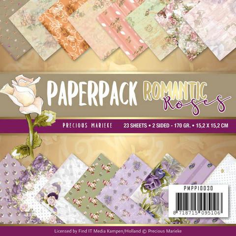 Precious Marieke paperikko Romantic Roses 15,2x15,2cm