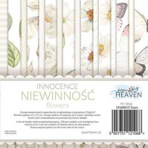 Paper Heaven paperikko Innocence Flowers 6x6