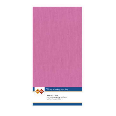 Tekstuuri korttikartongit Bight Pink 13,5x27 10kpl