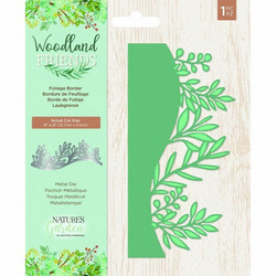 Crafter's Companion stanssi Woodland Friends Foliage Border