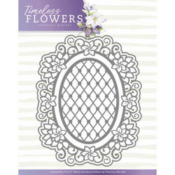 Precious Marieke stanssi Timeless Flowers - Clematis Oval