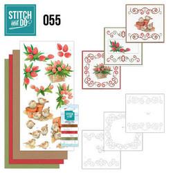 Stitch and Do - Garden Classics 55 ommeltava kortteilupakkaus