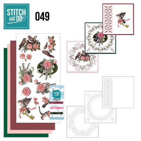 Stitch and Do - Move 49 ommeltava kortteilupakkaus