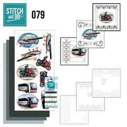 Stitch and Do - Daily Transport 79 ommeltava kortteilupakkaus