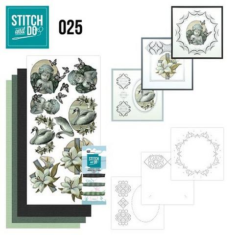 Stitch and Do - Condolence 25 ommeltava kortteilupakkaus