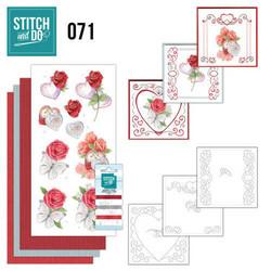 Stitch and Do - Wedding 71 ommeltava kortteilupakkaus