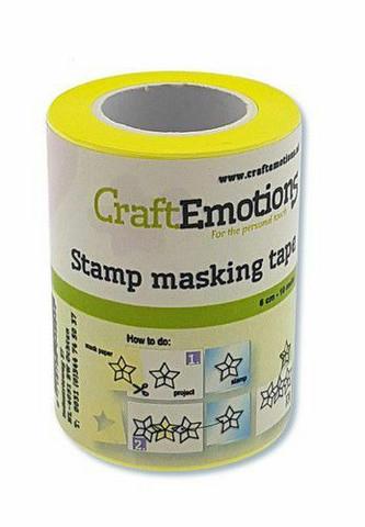Stamp Masking teippi 6 cm /10m CraftEmotions