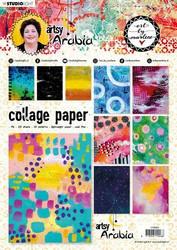 Art By Marlene Collage Paperisetti Artsy Arabia, nr.08 a4