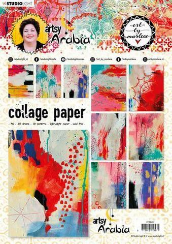 Art By Marlene Collage Paperisetti Artsy Arabia, nr.07 a4