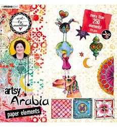 Art By Marlene stanssatut leikekuvat - Artsy Arabia 20x20cm