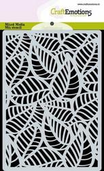 Sabluuna CraftEmotions Skeleton leaves A6