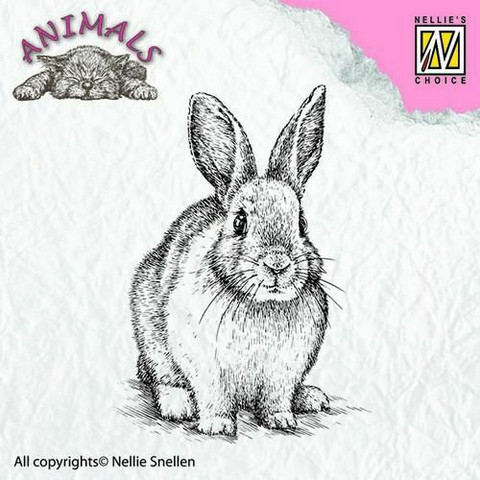 Nellie Choice leimasin Rabbit ANI012