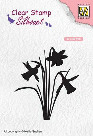 Nellie Choice leimasin Daffodil narsissit SIL064