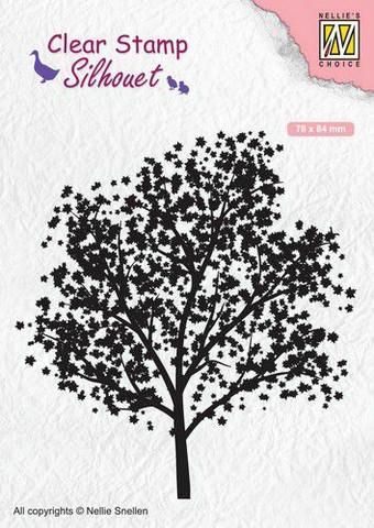 Nellie Choice leimasin Puu tree SIL063
