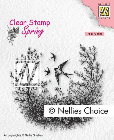 Nellie Choice leimasin Spring is in the air spcs016