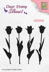 Nellie Choice leimasin Tulips tulppaanit SIL066
