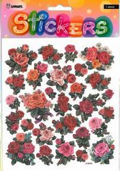 Tarrat punaiset ruusut kimalteella 2104