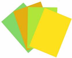 Korttipohjat a6 kevätlajitelma 40kpl 5516