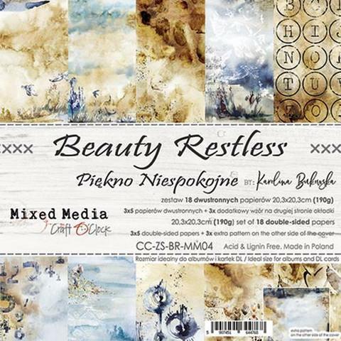 Craft O´Clock Beauty Restless paperisetti 8x8