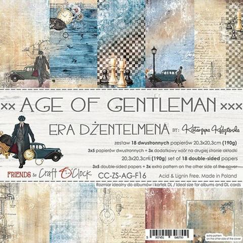 Craft O´Clock Age of Gentleman paperisetti 8x8