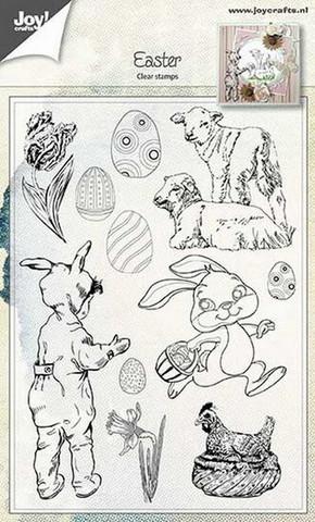 Joy Craft kirkas leimasinsetti Easter 6410/0481
