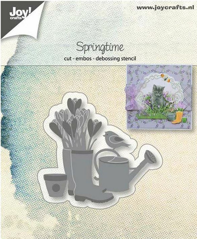 Joy Crafts stanssi Spring Time 6002/1261