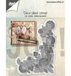 Joy Crafts stanssi Deco plant corner 6002/1288