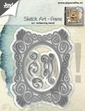 Joy Crafts stanssit Sketch Art - Frame 6002/1292