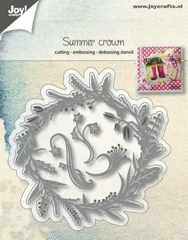 Joy Crafts stanssit Summer Crown 6002/1064