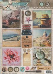 Stanssatut korttikuvat Memory of Summer Studiolight easyms620