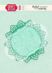 CRAFT & YOU stanssit Doily 1 CW103