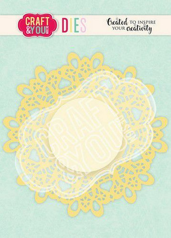 CRAFT & YOU stanssit Doily 5 CW107
