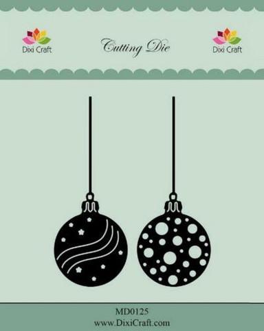 Dixi Craft stanssit joulupallot MD0125