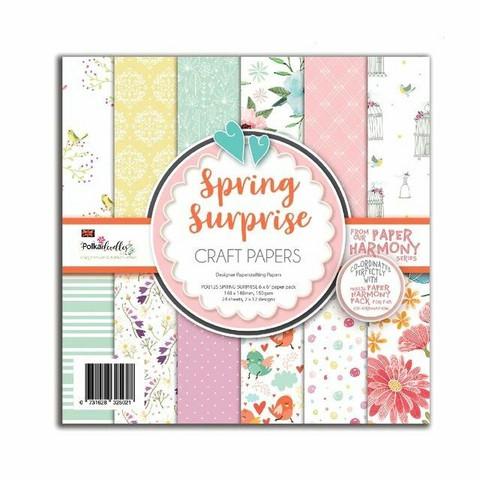 Polkadoodles paperikko Spring Surprise 6x6