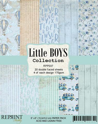 Reprint Little Boys paperikko 6x6