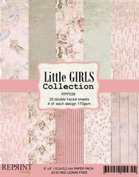 Reprint Little Girls paperikko 6x6