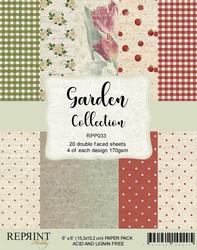 Reprint Garden paperikko 6x6