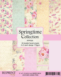 Reprint Springtime paperikko 6x6