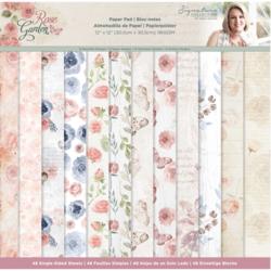 Crafters Companion paperilehtiö Rose Garden 12x12
